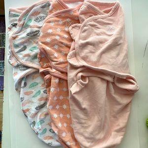 Set of Three SwaddleMe Swaddle Blankets